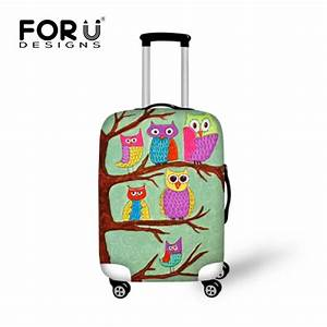 Kinderkoffer Trolley Hartschale : buy forudesigns waterproof travel luggage cover printing owl suitcase cover to ~ A.2002-acura-tl-radio.info Haus und Dekorationen