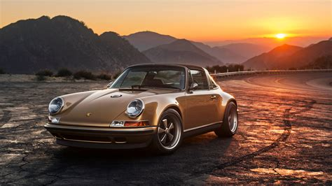 2015 Singer Porsche 911 Targa Wallpaper  Hd Car