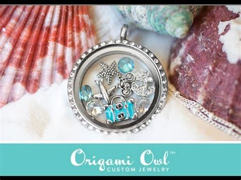 Origami Owl Jewelry Review & Giveaway {CLOSED} - YouTube