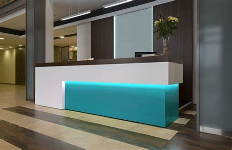 best corner window hotel reception design bespoke reception desks furnotel