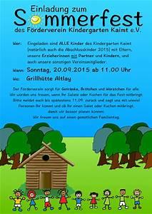 Ein Fest Planen : f rderverein kindergarten kaimt e v seite 2 ~ Whattoseeinmadrid.com Haus und Dekorationen