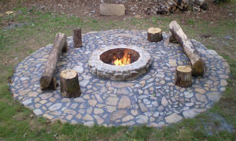 Backyard With Firepit, Outdoor Fire Pit Ideas Cheap Fire