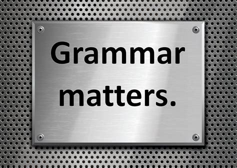 The Value Of Studying Grammar