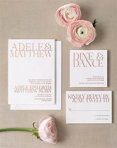 15 super chic minimalist wedding invites rose gold foil With wedding invitations grey and rose gold