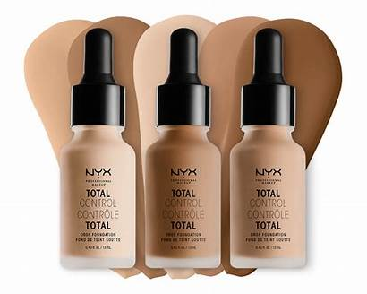 Nyx Foundation Drop Control Total Maquillaje Bases