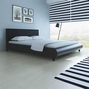 Bett 160 X 200 : qualitativ hochwertiges bett 200 x 160 cm kunstleder bezug schwarz g nstig kaufen ~ Eleganceandgraceweddings.com Haus und Dekorationen
