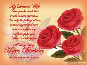 Birthday Wishes for Wife - Easyday