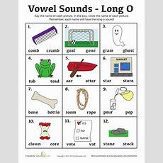 "Long ""o""  Worksheet Educationcom"
