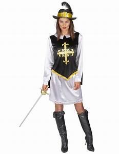 Kostüm Musketier Damen : musketier verkleidung schwarz wei golden f r damen ~ Frokenaadalensverden.com Haus und Dekorationen