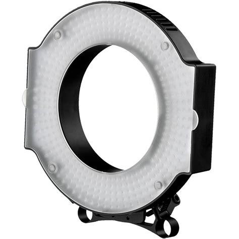 led ring light ikan rod mount led ring light iled rl b h photo