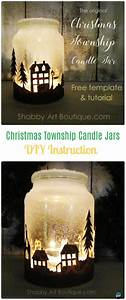frosted jar glass container craft projects diy