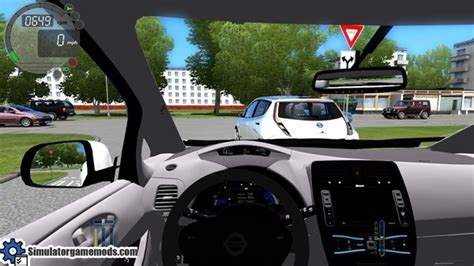 Nissan Leaf – City Car Driving 1.5.0 – Simulator Games ...