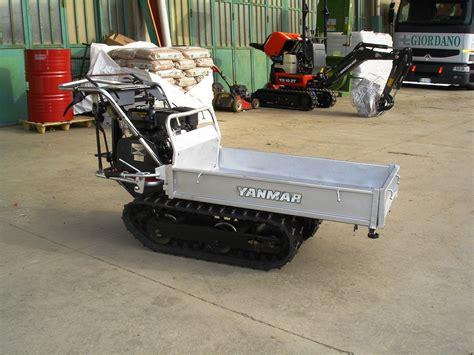 motocarriola cingolata usata dispositivo arresto motori lombardini