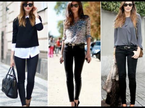 Moda en pantalones negros 4