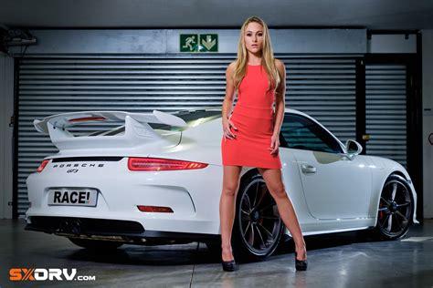 KELLY ROUX - PORSCHE 911 GT3 - EXCLUSIVE INTERVIEW & PICTURES