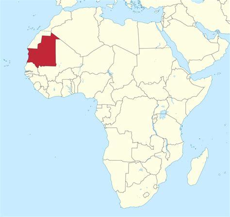 File:Mauritania in Africa (-mini map -rivers).svg ...