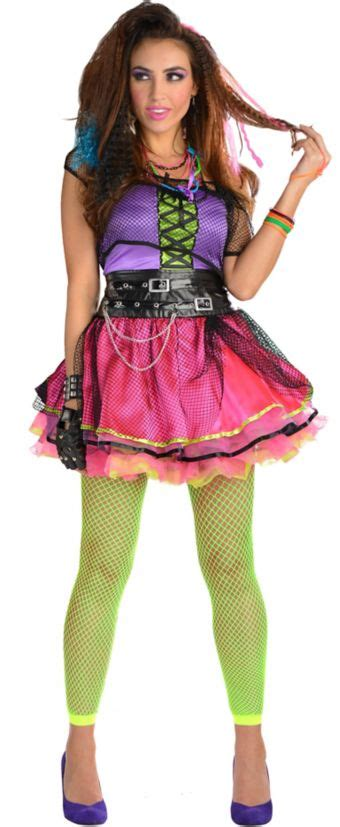 Adult Totally Pop 80s Costume - Party City