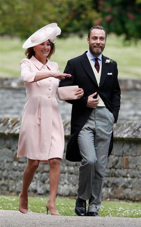 carole middleton wears catherine walker   pippa