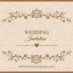 free vectors wedding vector illustration flowers With wedding cards vector images free download