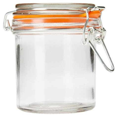 Country Kitchen Glass Jars by 260ml Clip Lid Glass Jar Kmart