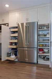 Add, Pantry, Storage, To, Your, Kitchen, With, Tall, Cabinets