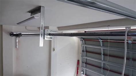 headroom rear sprung sectional garage door youtube