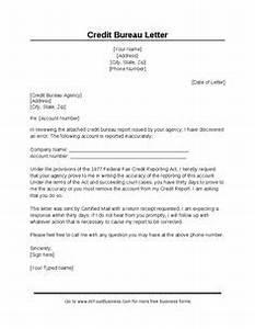 section 609 credit dispute letter sample credit repair With credit repair letter generator