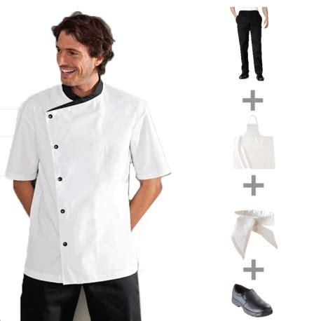 pack vêtements de cuisine et tenues complètes apprentis