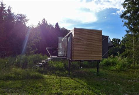 Tiny Häuser österreich by Simple Home A Tiny House Set On Legs In Austria