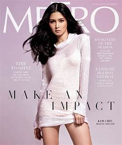 Kim Chiu Stuns on the Cover of Metro's Holiday Issue ...