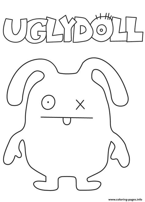 ugly dolls  coloring pages printable