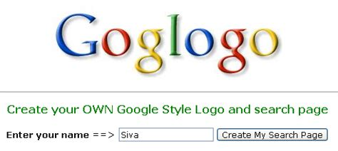 computer tricks tips create your own google style logo
