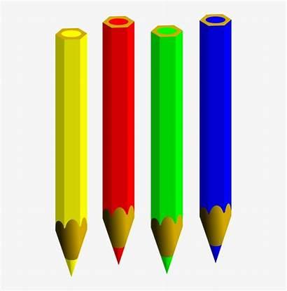 Coloring Clipart Pencil Pens Pencils Computer Colouring
