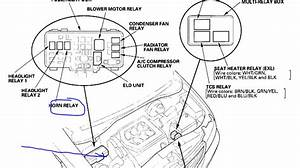 2004 Honda Accord Ex Fuse Box Diagram