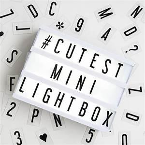 my cinema lightbox mini cinema lightbox With my cinema lightbox mini letters