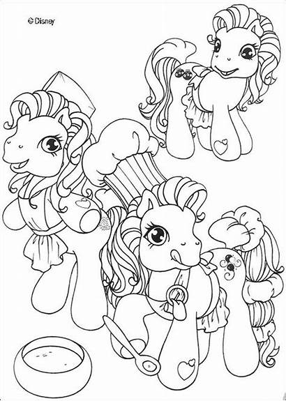 Coloring G3 G2 Random Pony Poney Hellokids