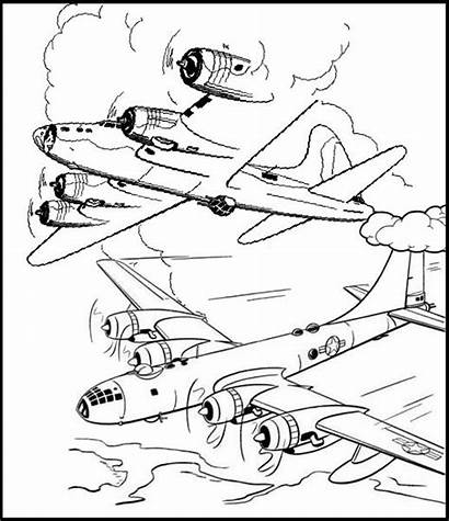 Fighter Coloring Jet Pages Jets Combat Themed