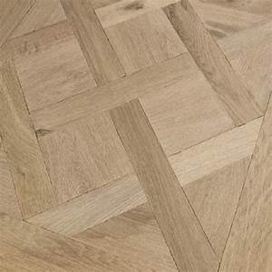 large traditional oak parquet versailles panel brushed With parquet panels