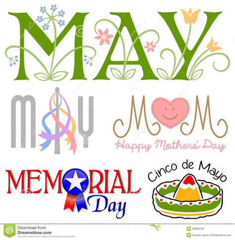 May Clip May My Birth Month On Hello May Birth Month