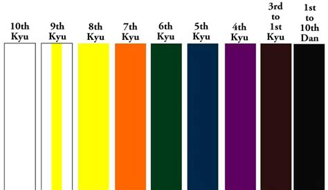 belt colors in karate the makiwara post karate belts what are they for