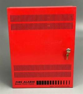 Fire Alarm Remote Booster Power Supply Panel W Wire