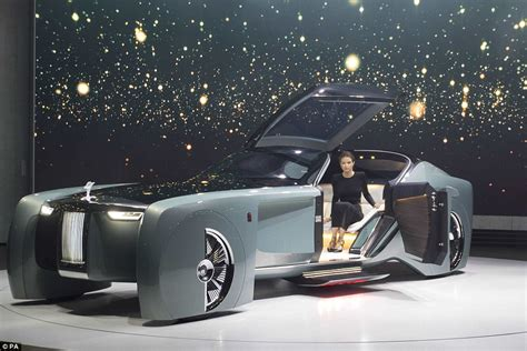 Rollsroyce Unveils Its Driverless Car Of The Future