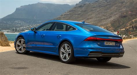 new audi a7 2018 review the sleek exec driven car