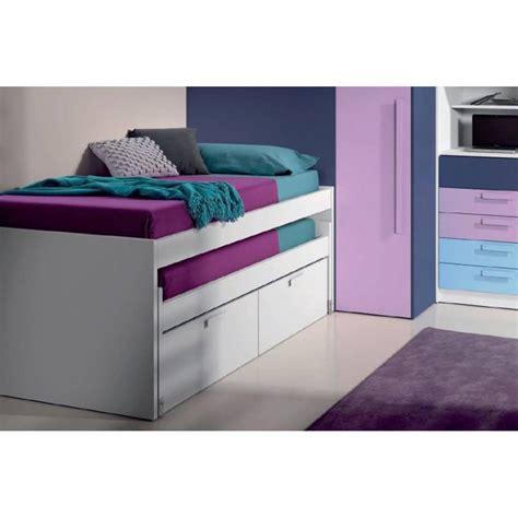 lit gigogne avec tiroir de rangement decorations magazine