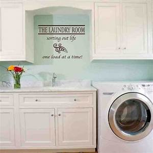 40 best uppercase living laundry room images on With kitchen cabinets lowes with blue lives matter sticker