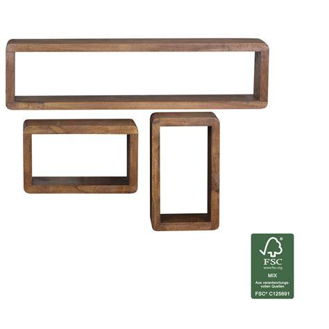 Badezimmermöbel Regal Holz by Wandregale Und Andere Regale Finebuy Kaufen
