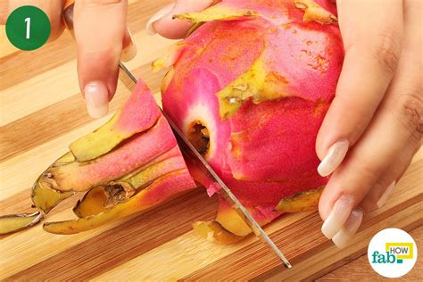 how to cut dragon fruit how to cut and eat fruit fab how