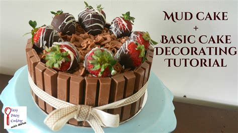 Ideas Decorating Your Cake by How To Decorate A Cake Mud Cake Recipe