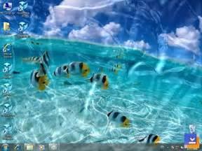 themed christmas watery desktop 3d indir dalgalanma efekti yaratan ekran