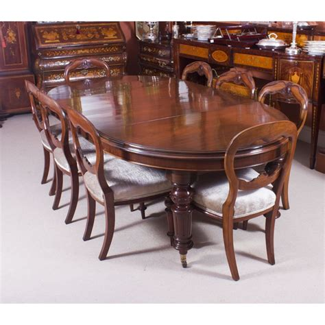 antique oval dining tables for best 25 oval dining tables ideas on white 9031